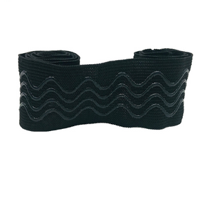 Customized non slip silicone Stripe elastic band for cycling clothing